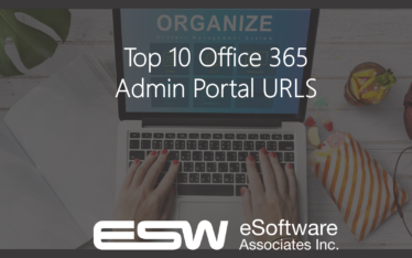 Top 10 Office 365 Admin Portal URLs